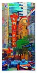 Chicago Colors 3 Beach Towel