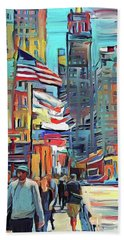 Chicago Colors 5 Beach Towel