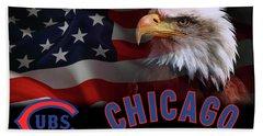Chicago Cubs Champions 2016 Beach Sheet