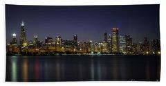 Chicago In Blue Beach Sheet