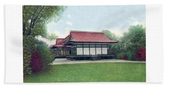 Chicago - Japanese Tea Houses - Jackson Park - 1912 Beach Towel