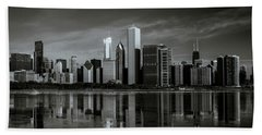 Chicago Lake Front Beach Towel