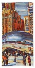 Chicago Millennium 2 Beach Towel