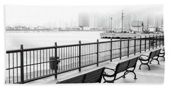 Beach Sheet featuring the photograph Chicago Navy Pier by Dawn Romine