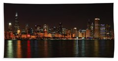 Chicago Panoramic Beach Towel
