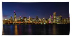 Chicago Salutes The Cubs Beach Towel
