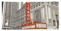 Chicago Theater Beach Sheet