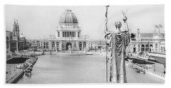 Chicago World's Fair - The White City 1893 Beach Towel
