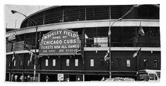Chicago: Wrigley Field Beach Towel
