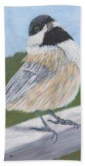 Chickadee Beach Towel