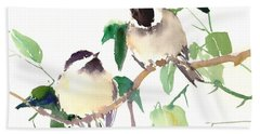 Chickadees Beach Towel