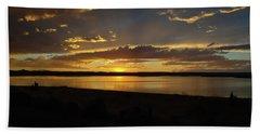 Chickahominy  Beach Towel by Linda Larson