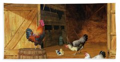 Chickens Beach Towel