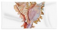 Chicoreus Ramosus Shell Beach Towel