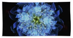 Chicory Abstract Beach Sheet by Stephanie Grant