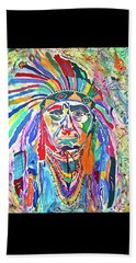 Chief Joseph Of The Nez Perce Beach Towel