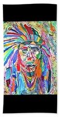 Chief Joseph Of The Nez Perce Beach Sheet