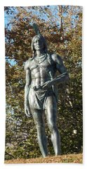 Chief Massasoit Beach Towel by Catherine Gagne