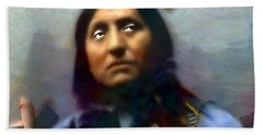 Chief Oglala Left Hand Bear Beach Towel