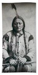 Chief Sitting Bull 1884 Beach Towel