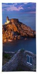 Beach Sheet featuring the photograph Chiesa San Pietro by Brian Jannsen