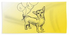 Chihuahua Beach Towel