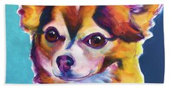 Chihuahua - Honey Beach Towel