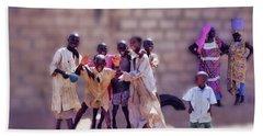 Children Of Kayar  Beach Towel
