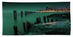 Chilly Chicago 2 Beach Towel