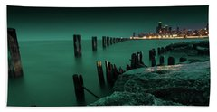 Chilly Chicago Beach Towel