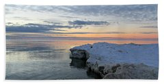 Chilly View Beach Towel