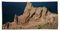Chimney Bluffs Beach Towel
