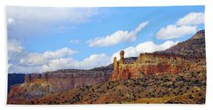 Chimney Rock Ghost Ranch New Mexico Beach Towel
