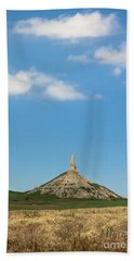 Chimney Rock Nebraska Beach Towel