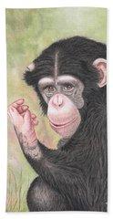 Chimpanzee Beach Towel
