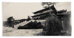 China #0640 Beach Towel by Andrey Godyaykin