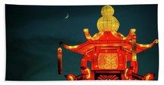 China Nights Beach Towel