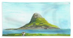 Chinamans Hat Island  Beach Sheet