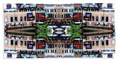 Chinatown Chicago 2 Beach Towel by Marianne Dow