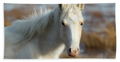 Chincoteague White Pony Beach Towel