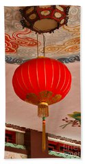 Chinese Lantern Beach Towel