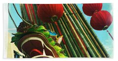 Chinese New Year Beach Towel by Nina Prommer