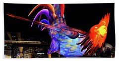 Chinese New Year - Rooster Beach Towel