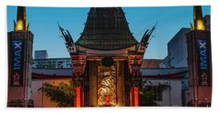 Chinese Theatre Beach Towel by Art K
