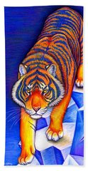 Chinese Zodiac - Year Of The Tiger Beach Sheet