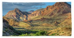 Chisos Mountains Of West Texas Beach Towel