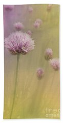 Chives Beach Towel