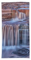 Beach Towel featuring the photograph Chocolate Swirls by Tom Kelly