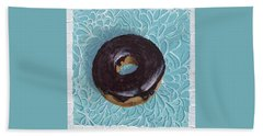 Chocolate Glazed Beach Towel