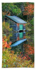 Chocorua Boathouse Beach Towel
